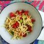Pasta fredda pomodorini zucchine e fagioli cannellini